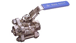 Carbon Steel S-45C/Stainless Steel AISI 316 (M-3S) Valves