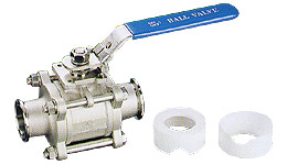 T-Clamp End Valves